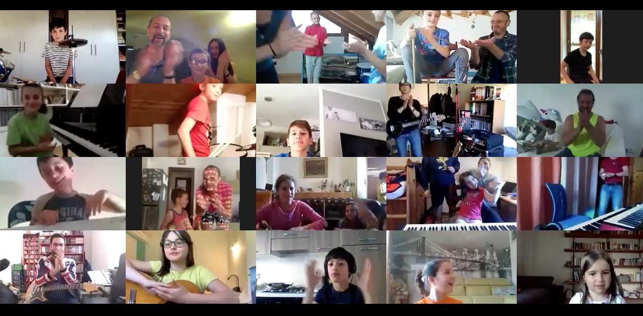 ClusterEnsemble, una bella partecipazione con più di 500 collegamenti su Zoom, You Tube e Facebook